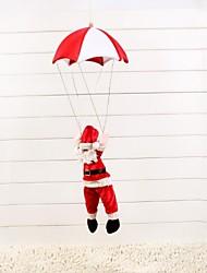 cheap -Plush Santa Parachute Pendant Christmas Decoration Christmas Tree Ornament(1 Pc)