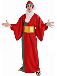 cheap -Red Kimono Adult Men's Christmas Costume