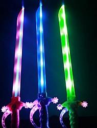 Недорогие -Вспышка света музыка меч (цвета случайным)