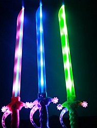 cheap -Light Flash Music Sword(Colors Random)
