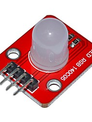 Недорогие -Keyes 140c05 электронные блоки полноцветный светодиодный модуль для Arduino - красный + белый