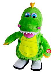Недорогие -Мягкие игрушки Игрушки Динозавр Оригинальные Электрический Плюш Мальчики Девочки Куски