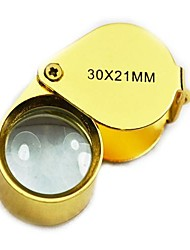 cheap -30x Magnifiers / Magnifier Glasses 21 mm Metal
