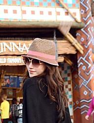 Недорогие -женская мода предотвратить ультрафиолетовый свет соломенную шляпу