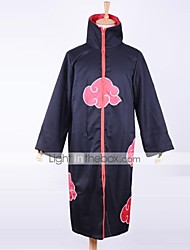 cheap -Inspired by Naruto Akatsuki Anime Cosplay Costumes Japanese Cosplay Suits Print Long Sleeve Cloak For Men's