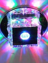 cheap -LightMyself™ Flush Mount Ambient Light Glass Crystal, Mini Style, LED 90-240V Warm White / Cold White / RGB LED Light Source Included / LED Integrated