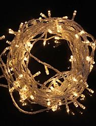 cheap -10M 9.6W Flash 100-LED Warm WhiteCool White Light Strip Light Lamp Christmas light string (EU Plug , AC 220V)