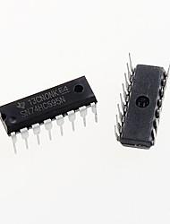 cheap -74HC595 DIP-16 74HC595N SN74HC595N 8-Bit Shift RegIster IC Chip DIP-16 (5pcs)