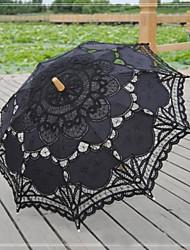 """cheap -Lace Wedding / Daily / Masquerade Umbrella Umbrellas 30.7""""(Approx.78cm)"""