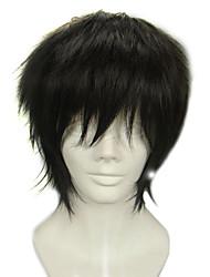 cheap -Blue Exorcist Juzo Shima Cosplay Wigs Men's 12 inch Heat Resistant Fiber Anime