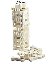 cheap -Stacking Game compatible Wood Legoing Balance Classic Toy Gift