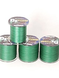 cheap -PE Braided Line / Dyneema / Superline Fishing Line 300M / 330 Yards PE 30LB 0.26 mm Sea Fishing Fly Fishing Bait Casting / Ice Fishing / Spinning
