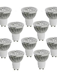 cheap -JIAWEN 10PCS  LED spotlight bulb 4W GU10 Hotel Family lighting Light Source AC85-265V