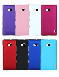 cheap -Case For Nokia / Nokia Lumia 930 Shockproof Back Cover Solid Colored Hard PC