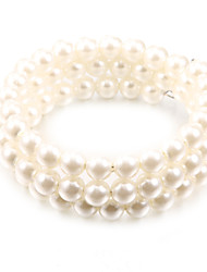cheap -Women's Bead Bracelet Unique Design Fashion Pearl Bracelet Jewelry White For Party Daily Casual