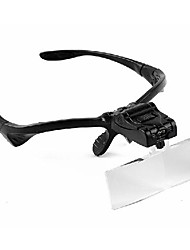cheap -Headset / Eyewear 3 Magnifiers / Magnifier Glasses Plastic