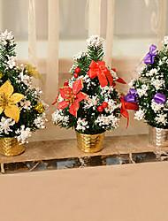 Недорогие -Дерево 30см Рождество с золотой пыли украшением рабочего стола