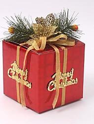 Недорогие -Рождественский подарок пакет коробка Рождество елочные украшения
