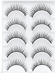abordables -Cil Accessoires de Maquillage Faux Cils Dense Naturel Epais Fibre Quotidien Epais Longs Naturels - Maquillage Maquillage Quotidien Cosmétique Accessoires de Toilettage