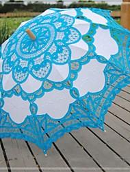 abordables -Dentelle Mariage / Quotidien / Mascarade Parapluie Parapluie Env.78cm