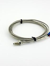 Недорогие -К датчика M6 х 5 мм Температура тип датчика кабель - серебро (2 м)