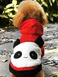 cheap -Cat Dog Hoodie Cosplay Wedding Winter Dog Clothes Costume Polar Fleece XS S M L XL
