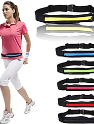 cheap -Running Belt Fanny Pack Waist Bag / Waist pack 2-3 L for Running Marathon Fishing Racing Sports Bag Lightweight Adjustable Flexible Durable Minimalist Polyester Running Bag / iPhone X / iPhone XS Max