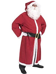 cheap -Father Christmas Santa Claus Kris Kringle Gown Men's Christmas Costume