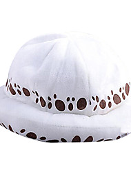 cheap -Hat / Cap Inspired by One Piece Trafalgar Law Anime Cosplay Accessories Cap Hat Terylene Men's Halloween Costumes