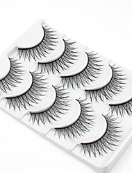 cheap -Eyelash Extensions Makeup Tools False Eyelashes Volumized Natural Fiber Daily Natural Long - Makeup Daily Makeup Cosmetic Grooming Supplies