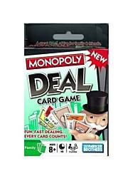 Недорогие -Настольные игры Монополия Бумага Для профессионалов Детские Взрослые Мальчики Девочки Игрушки Дары
