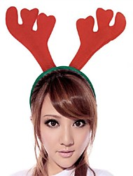 cheap -Toonykelly Christmas Decorative Antler Hair Band MITB Party Supplies