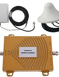 Недорогие -GSM / DCS 900 / 1800MHz двойной полосы сигнала мобильного телефона комплект усилитель руля антенна