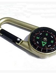 cheap -Mini Outdoor Camping Metal Keychain Portable Compass