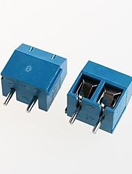 Недорогие -клеммный блок kf301-2p питания 300v16a 5.08mm (10шт)