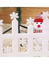 Недорогие -мини пейзаж макет забор Рождественские украшения забор (2 шт)