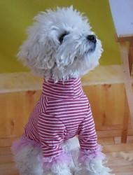 Недорогие -Собака Футболка Зима Одежда для собак Костюм Хлопок Косплей M L
