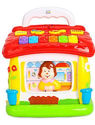 Недорогие -многофункциональные музыка головоломки блоки игрушки