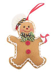 cheap -Gingerbread Man Christmas Hang Act Gifts