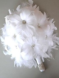 "cheap -Wedding Flowers Bouquets Wedding Leather 4.72""(Approx.12cm)"