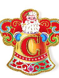 Недорогие -Письма долго колокол висит флаг баннер рождественские украшения (14pcs)
