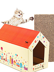 cheap -Cute House Shaped Toys For Pet Cats