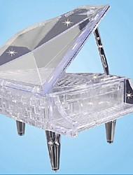 cheap -3D DIY Crystal Piano Assembling Building Blocks Music Box Game Toy for Kids(30 PCS)