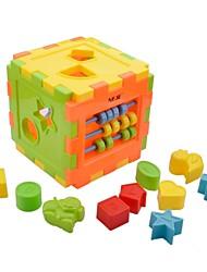 Недорогие -neje поделки учебный корпус блок игрушка модель здания комплект