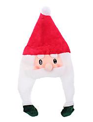cheap -Beauty Cartoon Santa Claus Christmas Hat with Braid