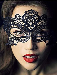 cheap -Lace Mask Masquerade Mask Halloween Mask Inspired by Carnival Black Halloween Men's Women's