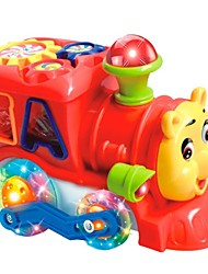 cheap -Bear Electric Building Blocks with Music aand Colorful Light Baby Educational Toys