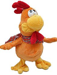 Недорогие -Мягкие игрушки Игрушки Цыпленок Оригинальные Электрический Плюш Мальчики Девочки Куски