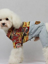 cheap -Dog Coat Winter Dog Clothes Costume Baby Small Dog Cotton Cosplay S M L XL XXL
