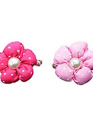 cheap -Dog Hair Accessories Dog Clothes Pink Rose Costume Cotton